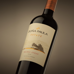 Red Wine, Malbec - Syrah Estate 2015, Dona Paula, Argentina
